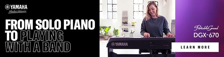 Nowe pianina cyfrowe Yamaha DGX-670