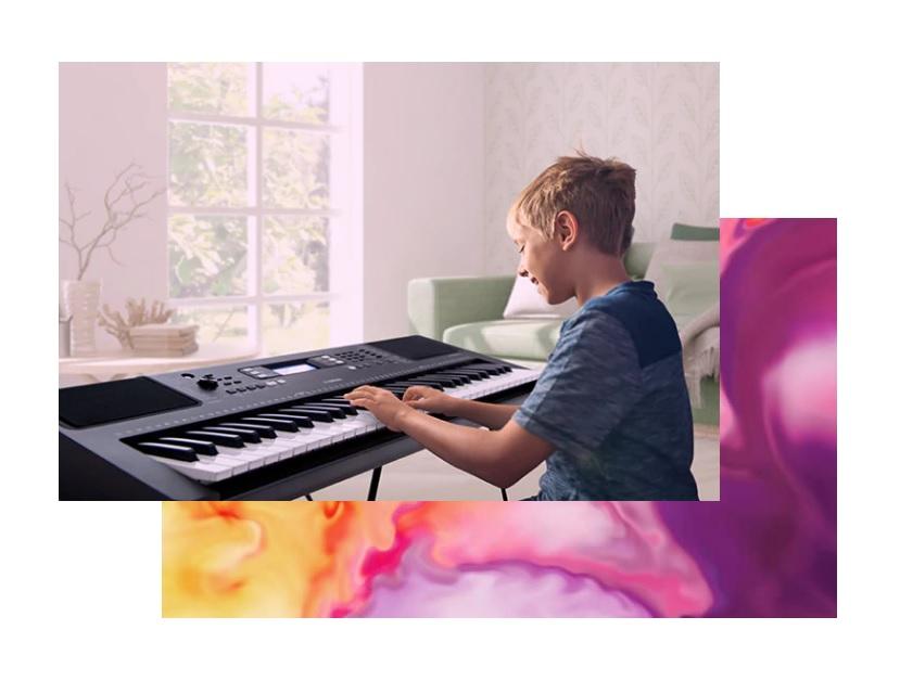 Yamaha PSR-EW310 funkcja lekcji