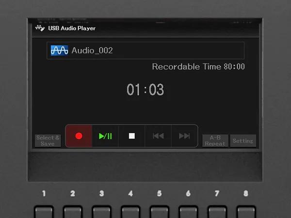 Odtwarzanie i nagrywanie plików audio