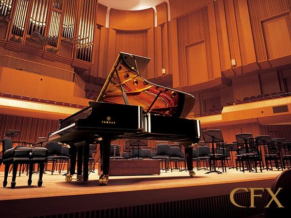 Brzmienie światowej klasy fortepianu koncertowego, Yamaha CFX