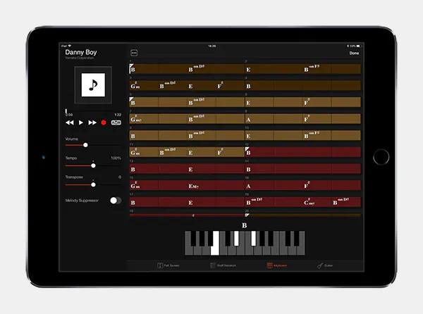 Rozpoznaj akordy z aplikacją Chord Tracker
