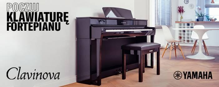 Poczuj klawiaturę fortepianu - Yamaha Clavinova