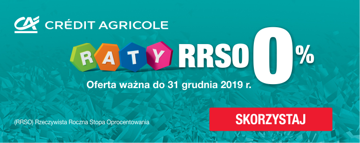 Raty Credit Agricole 10x0