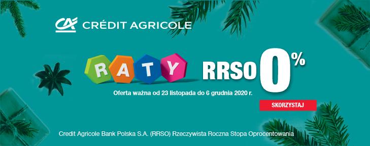 Raty 0 procent od Credit Agricole